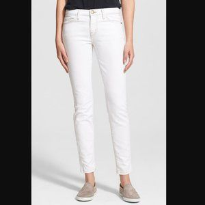 NWT Current Elliot Ankle Skinny White Jeans Sz 30